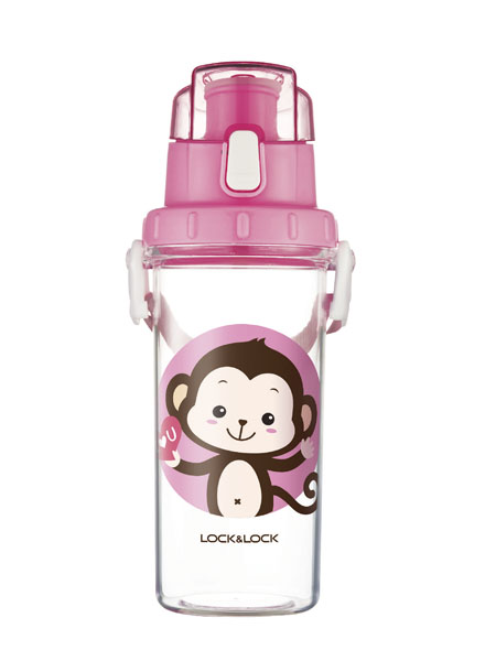 HLC952PIK - Kids Water Bottle 600ML (Pink)