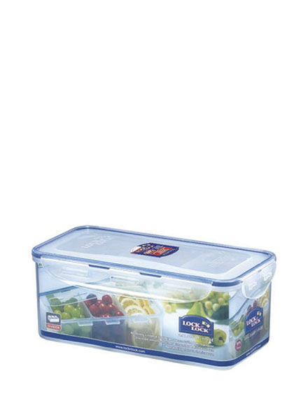 HPL848C - Rectangular Tall Container 3.4L W/Divider