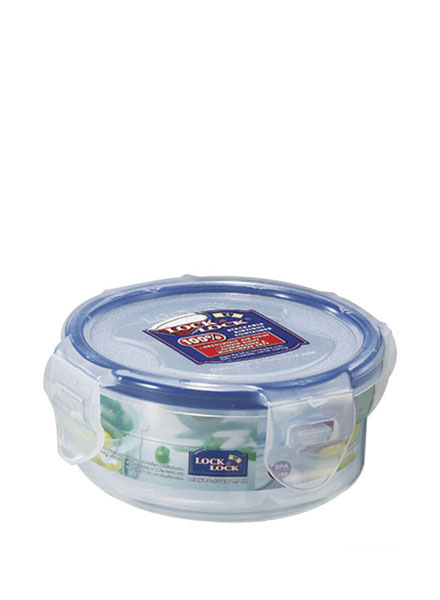 HPL934C - Round Short Container 140ML W/Divider