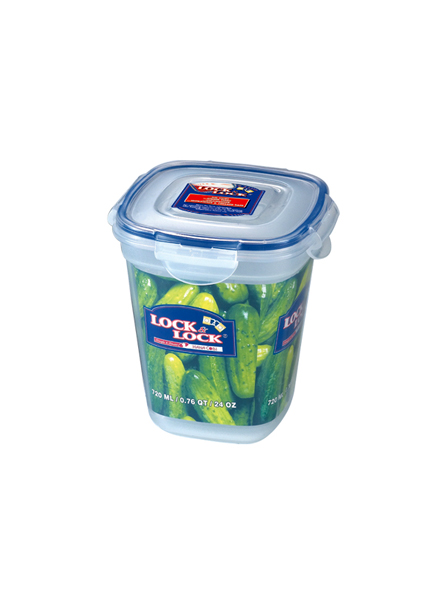 HSM8140 - ZEN STYLE SQUARE FOOD CONTAINER 720ML
