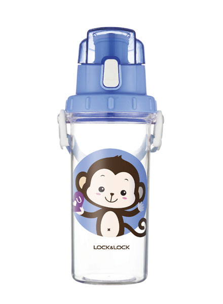 Lock & Lock - HLC952BLU - Kids Water Bottle 600ML (Blue)