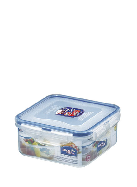 HPL854 - Square Short Container 600ML