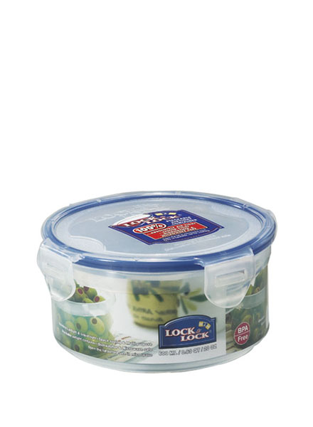 HPL933 - Round Short Container 600ML