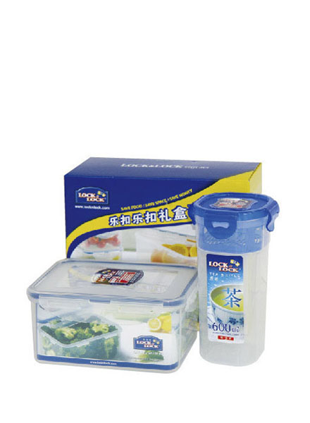 HPL938S905 - Plastic Container Set(2P) W/Color Box