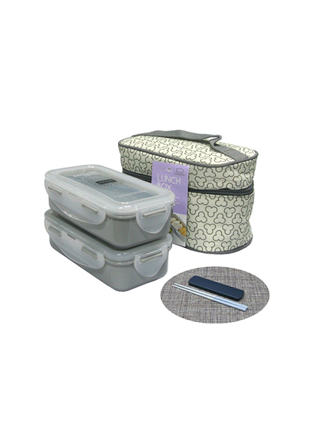 Lock&Lock - HPL752CIS - Lunch Box Set (2P)