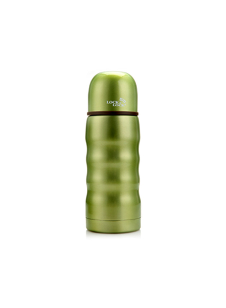LHC322B - Color Wave Vacuum Bottle 350ML (Green)