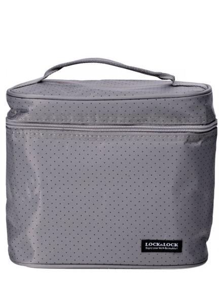 HPL758DG - Lunch Box Set(3P) W/Gray Bag W/Spoon&Fork