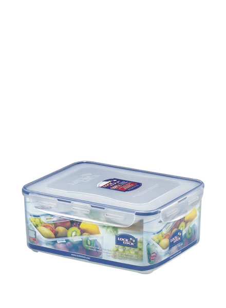 HPL836 - Rectangular Short container 5.5L