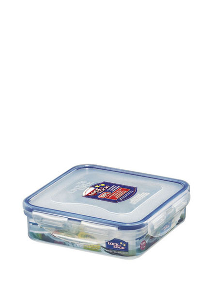HPL822 - Square Short Container 600ML