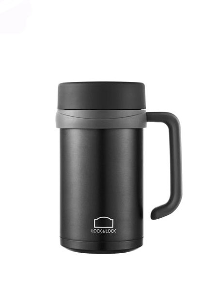 Lock & Lock - LHC4026B - New Basic Table Mug Black