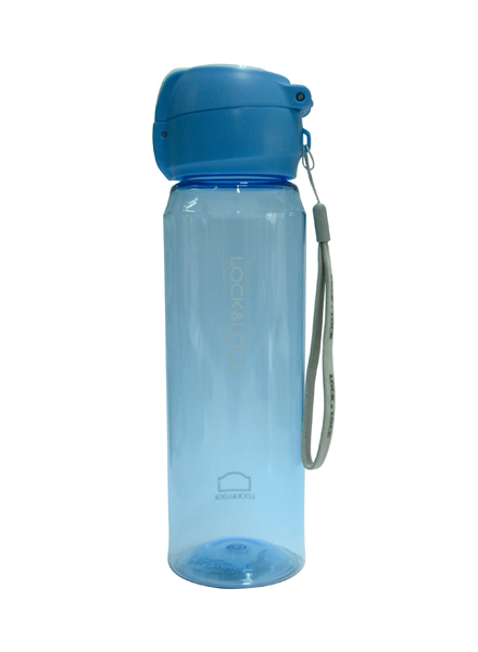 Lock & Lock - HLC968BLU - Exclusive Simple One Touch Bottle 550ml (Blue)