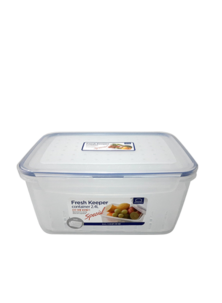 Lock & Lock - ZZF131T - Vegetables Storage Container With Tray 2.4 L