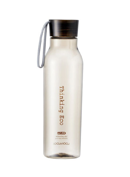 Lock & Lock - HLC644B - Eco Bottle 550ML (Brown)