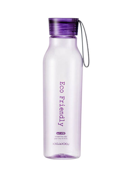 Lock & Lock - HLC644V - Eco Bottle 550ML (Violet)