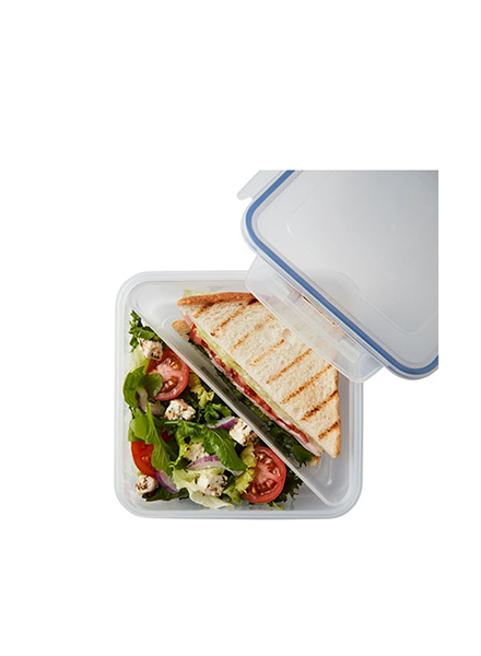 Lock & Lock - HPL979T - Sandwich Storage Container With Tray 1.2 L