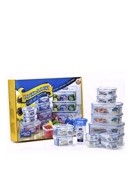 HPT824C13 - Plastic Container Set(13P) W/Color Box