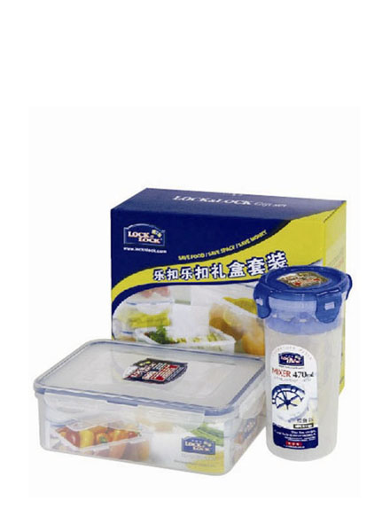 HPL931HS902 - Plastic Container Set(2P) W/Color Box