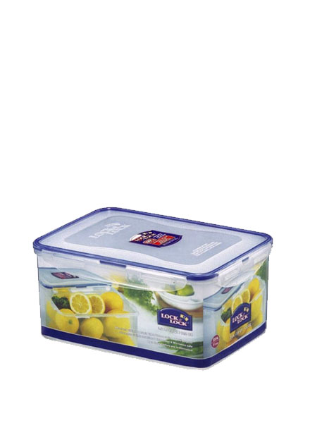 Lock & Lock - HPL827M - Rectangular Short Container 3.6L